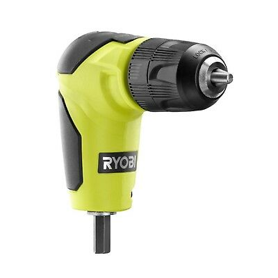 Ryobi Right Angle 90 Degree Drill Attachment 38 Chuck New In Package