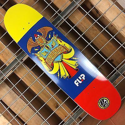 New Flip Gonzalez Flag Series P2 Skateboard Deck - 31.75in x -