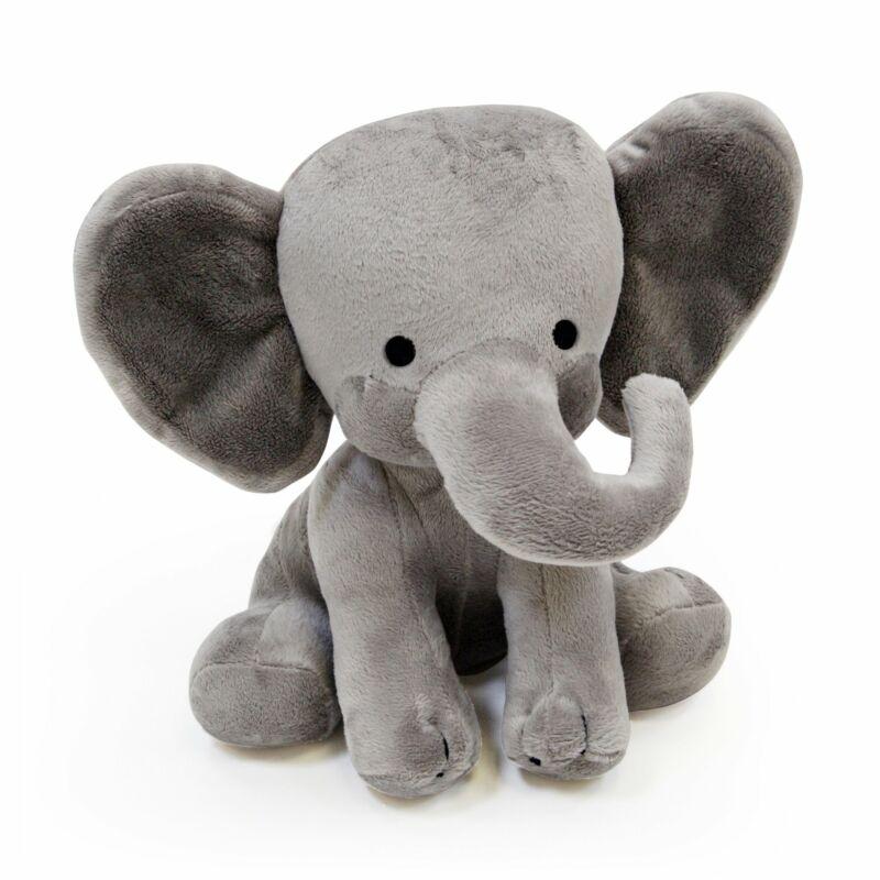 Bedtime Originals Choo Choo Gray Plush Elephant Stuffed Animal - Humphrey