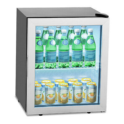 Mini Commercial Beverage Cooler Bottle Cooler Beer Wine Fridge Drinks Fridge 54L