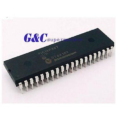 Pic16f887-ip Pic16f887 Dip40 Microchip Ic New Good Quality
