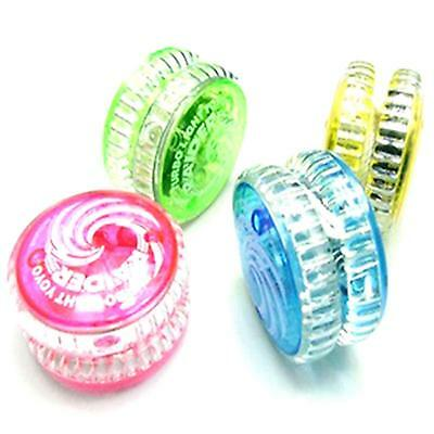 1pc Playing Funny YOYO Kids Child Boy Girl Flashing LED Light Up Yo-Yo Ball Toy