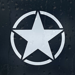 Five-Star-Marine-Infinite-Ammo-Army-Sign-Car-Or-Laptop-Decal-Vinyl