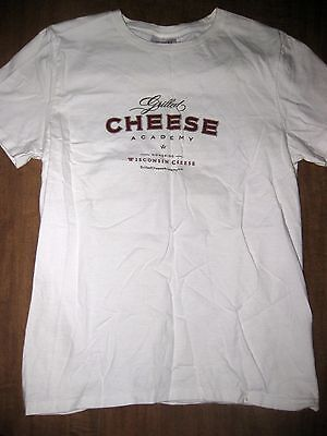 GRILLED CHEESE ACADEMY juniors small T shirt Wisconsin sandwich appreciation - Small Sandwiches