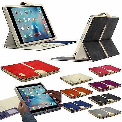 New Suede Leather Smart Book Case Wallet Detachable Cover fo