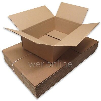 5 x Postal Packing Mail Gift Cardboard Boxes 18x12x6