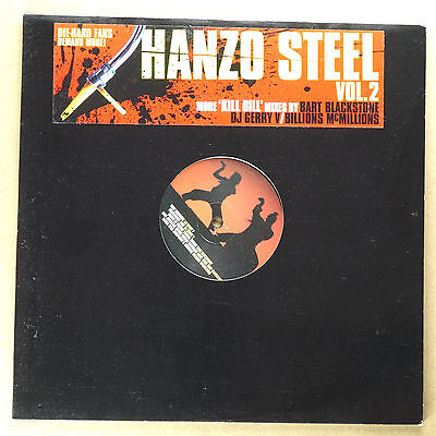 HANZO STEEL Vol.2 - Kill Bill Remix-LP ***Very RARE Vinyl-LP***NEW***