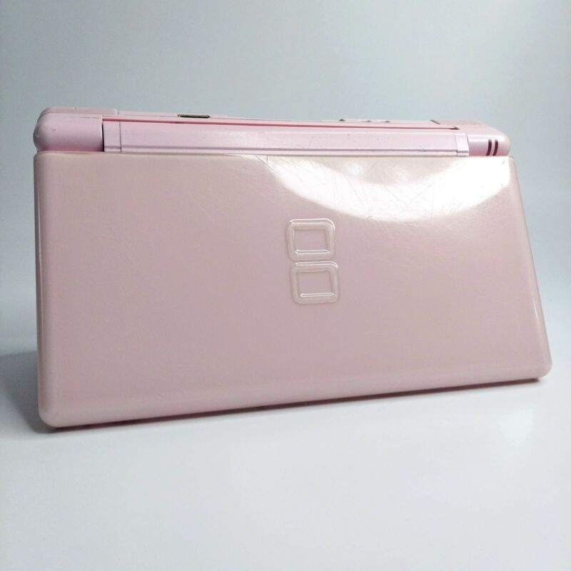 Nintendo DS Lite Console Coral Pink LOOK Free Same Day Shipping