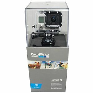 gopro hd hero 3 silver ebay. Black Bedroom Furniture Sets. Home Design Ideas