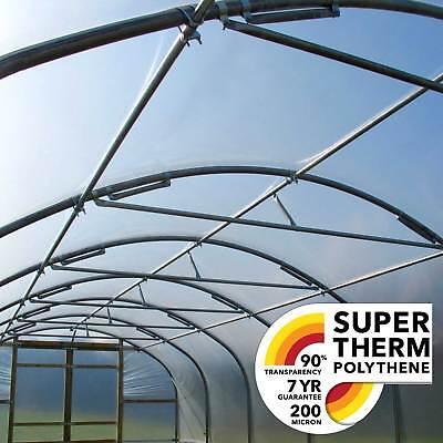SUPER THERM POLYTUNNEL POLYTHENE (200 MICRON)