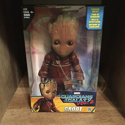 Guardians Of The Galaxy, Groot Ravager Outfit, Hasbro 2016 Walmart EXCLUSIVE NEW - Galaxy Outfit