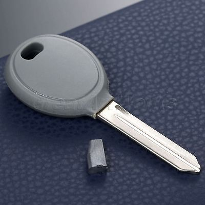 For Dodge Chrysler Jeep Transponder Uncut Blade Ignition Remote Key W/ 46 Chip