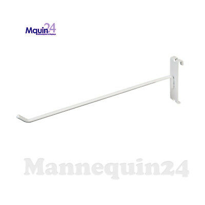 Gridwall Hooks For Grid Wall 4 - 100 Pcs - White - Free Shipping