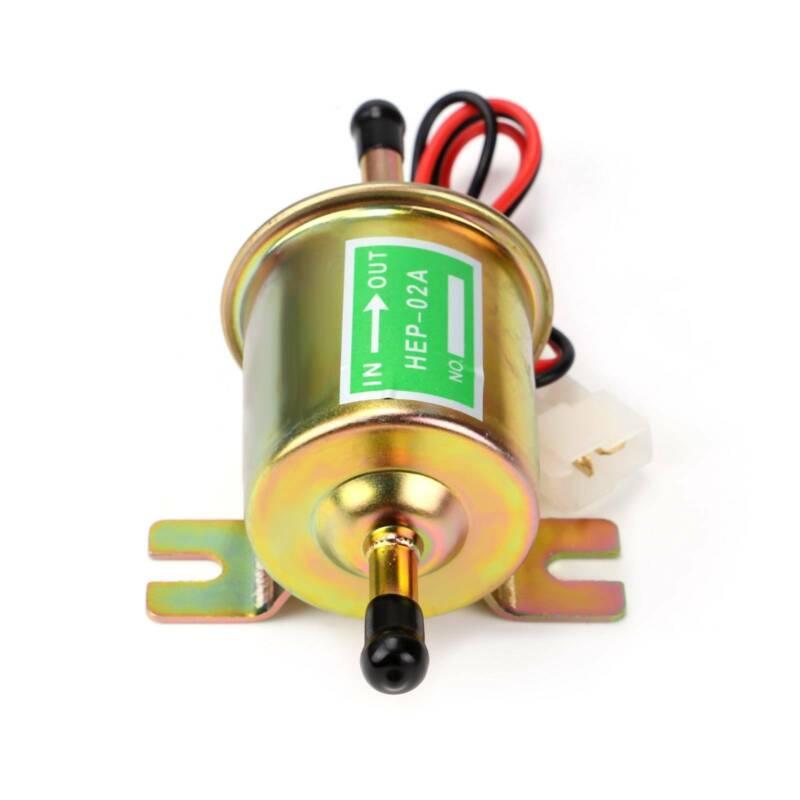 Universelle elektrische Kraftstoffpumpe 12V Niederdruck 1.0A Gas Diesel Inline