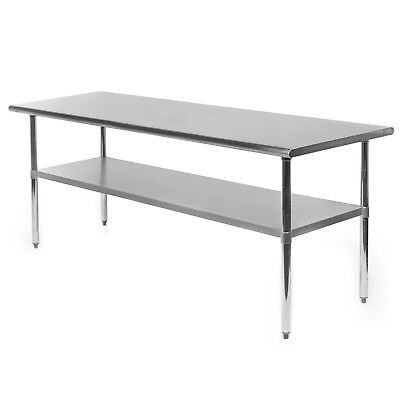 Commercial Stainless Steel Kitchen Food Prep Work Table - 30 X 72