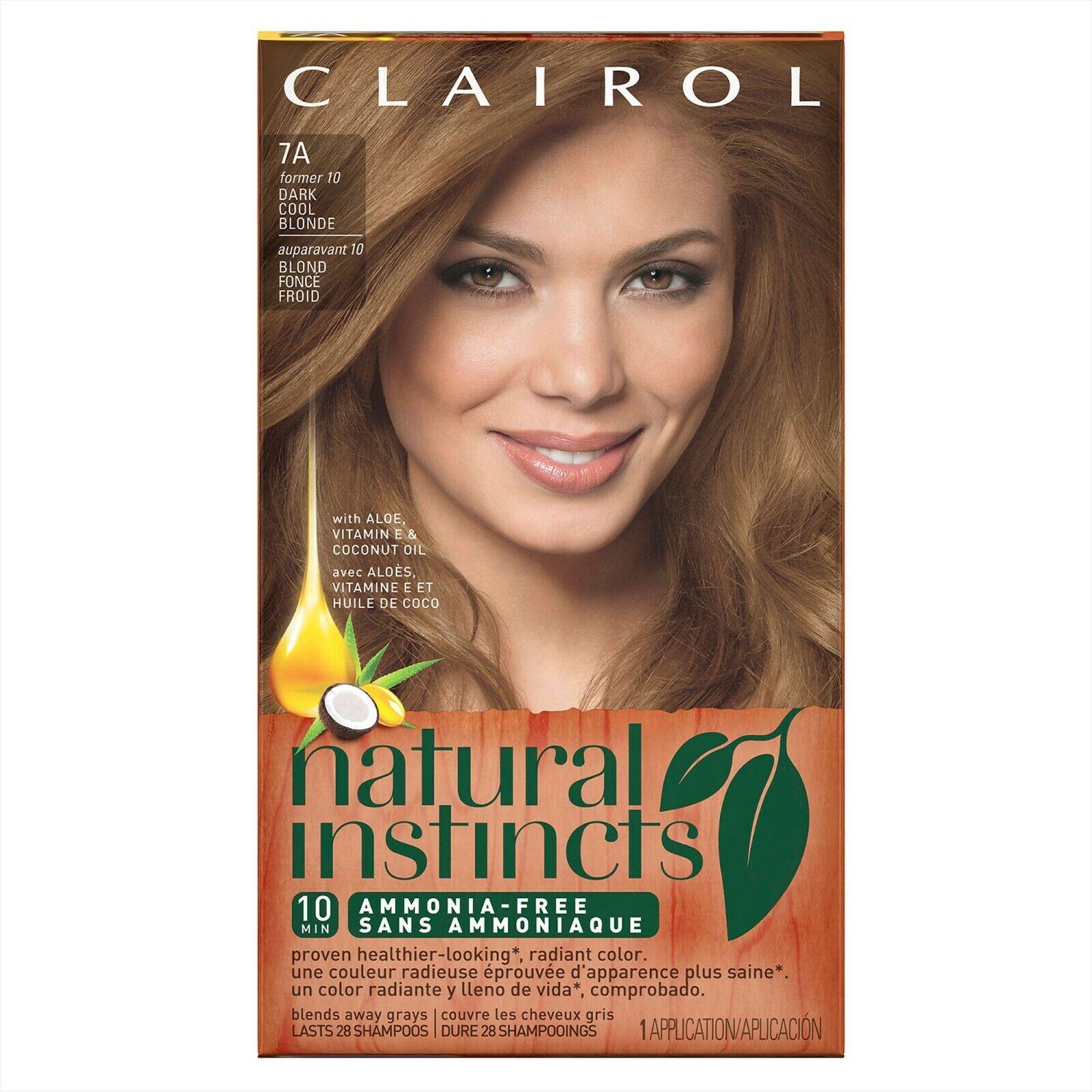 Clairol Natural Instincts Ammonia-Free 9N Dark Blonde, 1.0 C