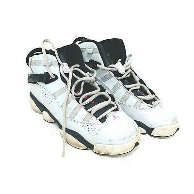 Cheap Kids Jordans (Nike Air Jordan Girls Size 8Y Six Rings Basketball Shoes Pink Flash 323399-009)