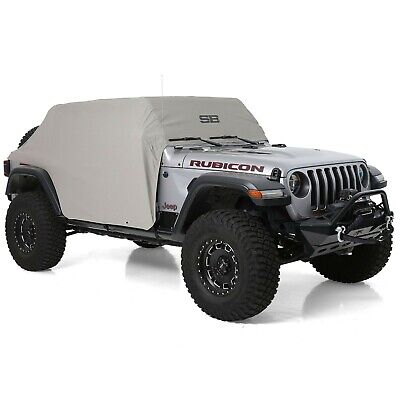 Water Resistant Cab Cover With Door Flaps For Jeep Wrangler JLU 4-Door