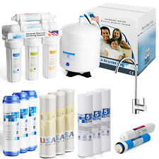 Mua và bán 5 Stage Home Drinking Reverse Osmosis System Clear Water Filter Plus 7 Express gần tôi