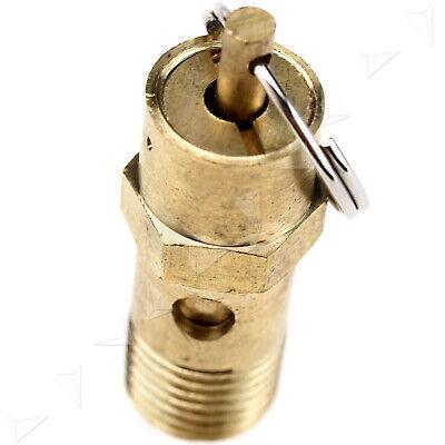 Brass 14 Bsp Air Compressor Pressure Switch Safety Relief Valve 145psi 10bar