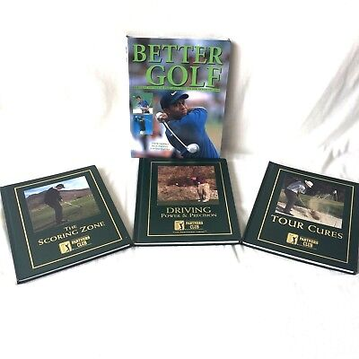 Lot of 4 Golf Instructional Books PGA Tour Cures Driving Scoring Better (Best Driving Instruction Books)