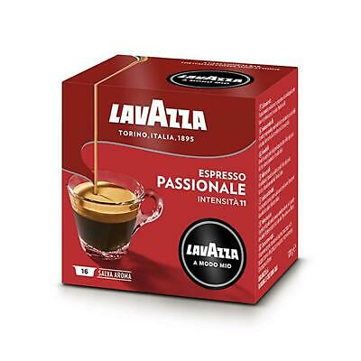 CAFFE' IN CAPSULE LAVAZZA 16 PZ ESPRESSO PASSIONALE COMPATIBILI A MODO MIO