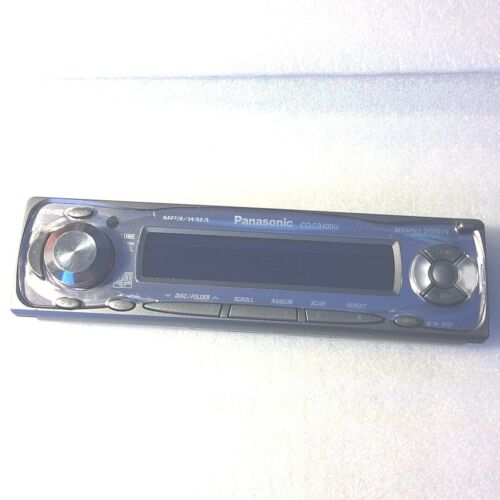 Genuine Panasonic CQ-C3400U Car Audio Faceplate Only