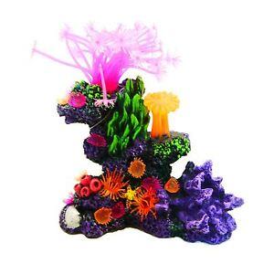 Realistic Artificial Aquarium Coral Reef Marine Polyp Fish Tank Ornament Decor