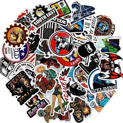Welder Sticker Funny Welding Helmet Stickers Hard Hat Safety Stickers Constru...