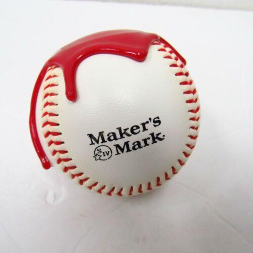 2006 Makers Mark Red Wax Dipped Baseball