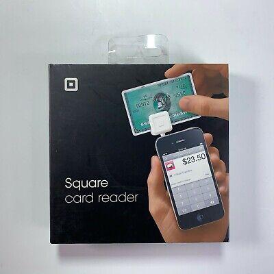 Square White Credit Card Magstripe Reader Headphone Jack