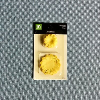 Making Memories Blossoms Paper Flowers - Daisy (Yellow)