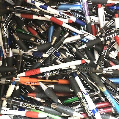 150 Bulk Lot Misprint Retractable Pen Pens