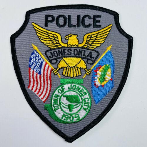 Town of Jones City Police Oklahoma OK Patch