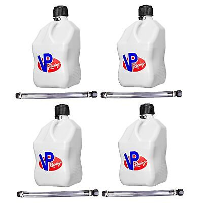 Vp Racing Fuels 5-gal. Motorsport Container White W 14 Standard Hose 4 Pack