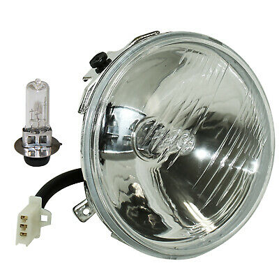 Headlight W/Halogen Bulb for Yamaha Kodiak 400 YFM400FW 4X4 1996 1997 1998