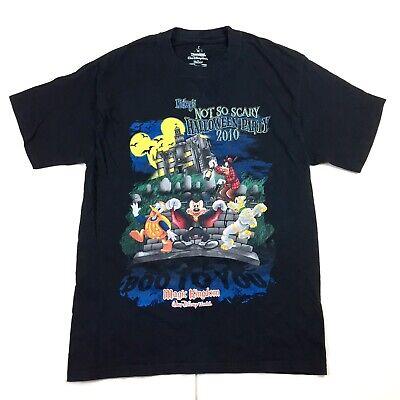 ium Black T-Shirt Mickey's Halloween Party Magic Kingdom (Halloween-party-magic Kingdom)