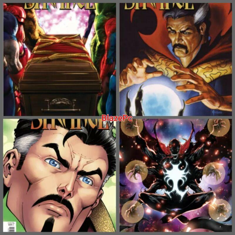 Death of Doctor Strange #2 Cover A B C D Variant Set Options 2021 Marvel 10/20