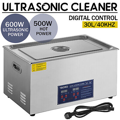 30l Ultrasonic Cleaner Stainless Steel Industry Heated Heater Wtimer