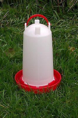 3 ltr Drinker for Poultry, Chickens, Chicks, Ducklings, Pigeon or Quail