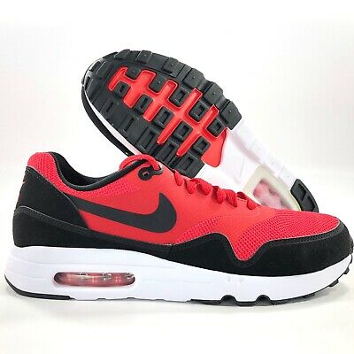 Nike Sportswear Air Max 1 Ultra 2.0 Essential Red Black White 875679-600 Men's