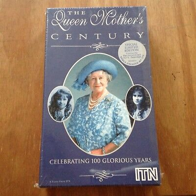 The Queen Mother's Century  Limited Edition VHS