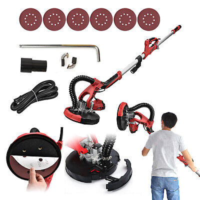 Electric Drywall Sander Tool 800w Variable Adjustable 5-speed Sand Padled Light