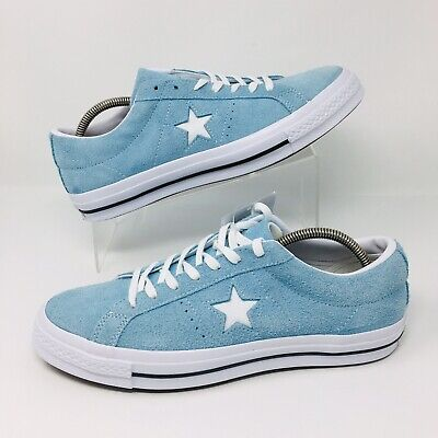 *NEW* Converse All Star Chuck Taylor (Men Size 11) Skate Shoes Sky Blue Sneakers