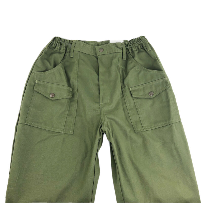 Boy Scouts of America Mens Green official Uniform Pants Trousers Size 32