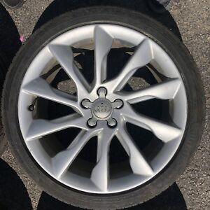 Mags Oem Audi 19'' 5x112 + Pneus 255-35-19