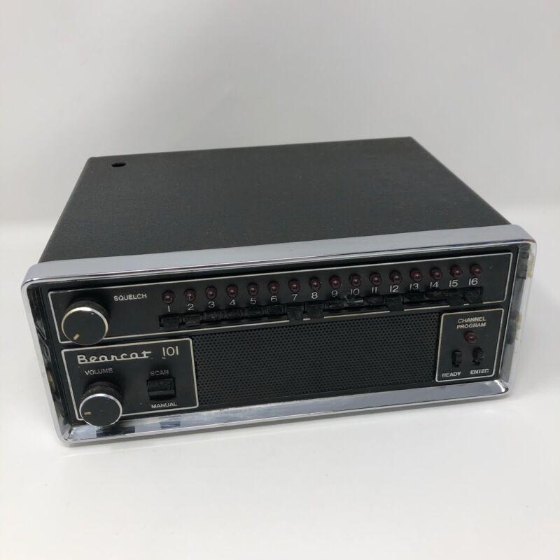 Electra Bearcat Scanner - BC 101 *Tested* *Works!*