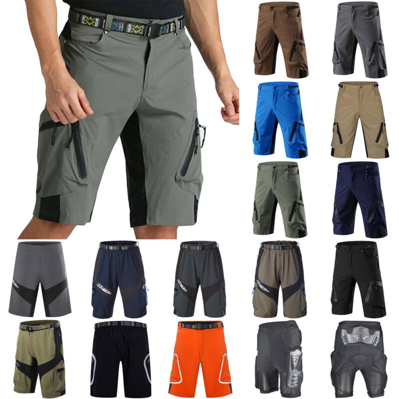 mens cycling mountain bike mtb bicycle shorts