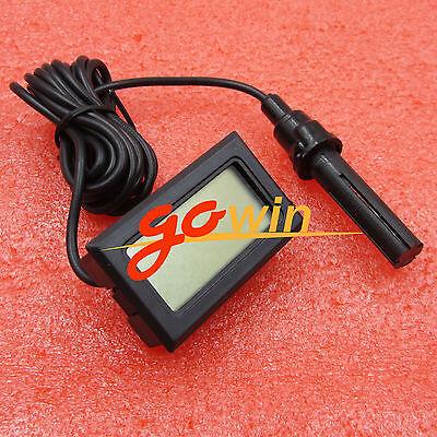 Mini Digital Lcd Thermometer Hygrometer Humidity Temperature Meter Indoor L1st