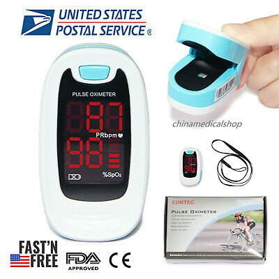 Sportsfitnesswellness Meter Pulse Oxymeter Spo2 Heart Rate Oxygen Levels Usa